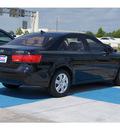 hyundai sonata 2009 black sedan gls 4 cylinders automatic 77094