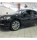honda accord 2013 black sedan sport gasoline 4 cylinders front wheel drive automatic 77034