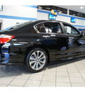 honda accord 2013 black sedan sport gasoline 4 cylinders front wheel drive automatic 77034