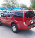 nissan pathfinder 2009 dk  red suv s gasoline 6 cylinders 2 wheel drive automatic 76049