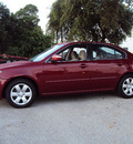 kia optima 2009 red sedan lx gasoline 4 cylinders front wheel drive automatic 32901