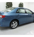 toyota corolla 2013 lt  blue sedan s gasoline 4 cylinders front wheel drive automatic 91731