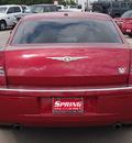 chrysler 300 2007 red sedan c gasoline 8 cylinders rear wheel drive automatic 77388
