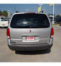 pontiac montana sv6 2006 silver van gasoline 6 cylinders front wheel drive automatic with overdrive 77642