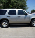 chevrolet tahoe 2009 gray suv ls gasoline 8 cylinders 2 wheel drive automatic 75070