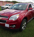 chevrolet equinox 2013 red lt 6 cylinders automatic 78064