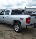 chevrolet silverado 1500 2013 silver lt flex fuel 8 cylinders 4 wheel drive automatic 78064