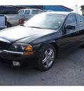 lincoln ls 2002 black sedan gasoline 6 cylinders rear wheel drive automatic 77018