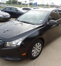 chevrolet cruze 2011 black sedan ls gasoline 4 cylinders front wheel drive 6 speed manual 76108