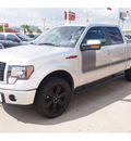 ford f 150 2012 silver fx4 6 cylinders automatic 77074