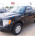 ford f 150 2012 black stx 6 cylinders automatic 77074
