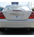 mercedes benz e class 2004 white sedan e320 gasoline 6 cylinders rear wheel drive automatic 77002