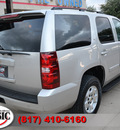 chevrolet tahoe 2007 silver suv lt w dvd gasoline 8 cylinders rear wheel drive automatic 76051