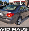 toyota corolla 2006 gray sedan le gasoline 4 cylinders front wheel drive automatic 32771