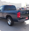 dodge ram 1500 2008 blue pickup truck st gasoline 6 cylinders rear wheel drive automatic 77388