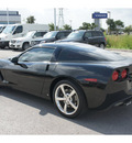 chevrolet corvette 2009 black coupe gasoline 8 cylinders rear wheel drive 6 speed manual 78626
