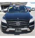 mercedes benz m class 2012 black suv ml350 4matic gasoline 6 cylinders all whee drive automatic 78626
