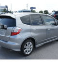 honda fit 2010 gray hatchback sport gasoline 4 cylinders front wheel drive automatic 78626