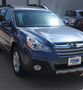 subaru outback 2013 blue wagon 2 5i limited gasoline 4 cylinders all whee drive automatic 77090