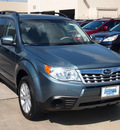 subaru forester 2013 lt  green wagon 2 5x premium gasoline 4 cylinders all whee drive automatic 77090