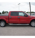 ford f 150 2012 red xlt flex fuel 8 cylinders 2 wheel drive automatic 77531