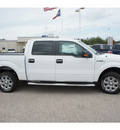 ford f 150 2013 white xlt flex fuel 8 cylinders 2 wheel drive automatic 77531