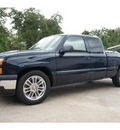 chevrolet silverado 1500 2006 blue pickup truck work truck gasoline 8 cylinders rear wheel drive automatic 77515