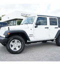 jeep wrangler unlimited 2013 white suv sport gasoline 6 cylinders 4 wheel drive automatic 77515