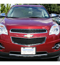 chevrolet equinox 2010 red suv lt gasoline 6 cylinders front wheel drive automatic 77074
