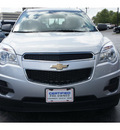chevrolet equinox 2012 silver ls flex fuel 4 cylinders front wheel drive automatic 77074