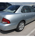nissan sentra 2003 silver sedan gxe gasoline 4 cylinders dohc front wheel drive automatic 78729