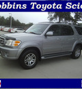 toyota sequoia 2004 dk  gray suv sr5 gasoline 8 cylinders rear wheel drive automatic 75503