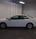ford fusion 2010 white sedan se gasoline 4 cylinders front wheel drive automatic 76108