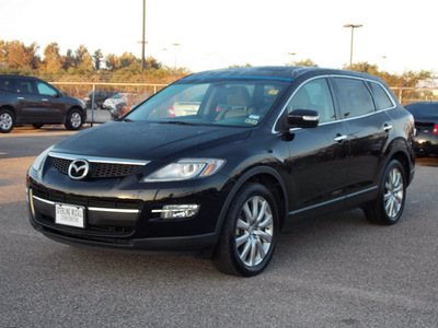 mazda cx 9 2008 black suv grand touring gasoline 6 cylinders front wheel drive shiftable automatic 77074