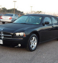dodge charger 2008 black sedan sxt gasoline 6 cylinders rear wheel drive automatic with overdrive 77074