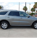 dodge durango 2011 dk  gray suv crew gasoline 6 cylinders rear wheel drive 5 speed automatic 77642
