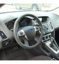 ford focus 2012 silver sedan se flex fuel 4 cylinders front wheel drive automatic with overdrive 77642