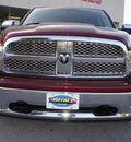 ram 1500 2011 dk  red laramie gasoline 8 cylinders 4 wheel drive automatic 75067