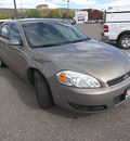 chevrolet impala 2006 brown sedan lt gasoline 6 cylinders front wheel drive automatic 81212