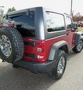 jeep wrangler 2013 red suv rubicon gasoline 6 cylinders 4 wheel drive automatic 81212