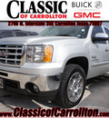 gmc sierra 1500 2011 dk  gray pickup truck sle flex fuel 8 cylinders 2 wheel drive automatic 75007