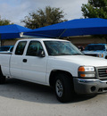 gmc sierra 1500 classic 2007 white pickup truck work truck gasoline 8 cylinders rear wheel drive automatic 76210