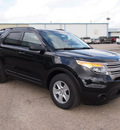 ford explorer 2013 black suv flex fuel 6 cylinders 2 wheel drive automatic 78861