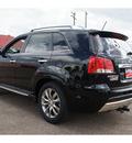 kia sorento 2013 black sx gasoline 6 cylinders front wheel drive automatic 78550