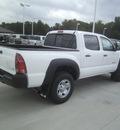 toyota tacoma 2013 white v6 gasoline 6 cylinders 4 wheel drive automatic 75569