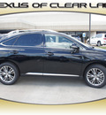 lexus rx 350 2013 black suv gasoline 6 cylinders front wheel drive automatic 77546