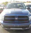 dodge ram 1500 2010 blue trx4 off road gasoline 8 cylinders 4 wheel drive autostick 62863