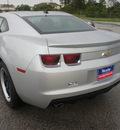 chevrolet camaro 2012 silver coupe 6 cylinders 6 spd man onstar,1 yr saf 77090
