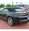 chevrolet camaro 2012 black ss 8 cylinders automatic 77090