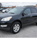 chevrolet traverse 2012 black suv lt 6 cylinders automatic 77090